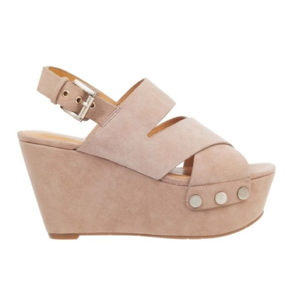 5eae2b16b92 Natural Suede Bianka Wedge Marc Fisher LTD